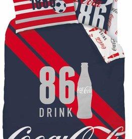 Coca Cola Coca Cola Dekbedovertrek Sport 140x200cm + kussensloop 63x63cm