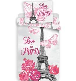 Paris Paris  Dekbedovertrek Love 140x200 + kussensloop 70x90cm