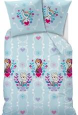 Disney Frozen Disney Frozen Dekbedovertrek Flanel 140x200cm + kussensloop 63x63cm
