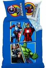 Marvel Avengers Marvel Avengers Dekbedovertrek Invincible 140x200cm + kussensloop  63x63cm