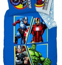 Marvel Avengers Dekbedovertrek INVINCIBLE 100% katoen 140x200 + 63x63cm
