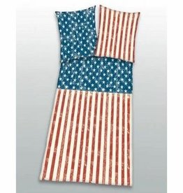 Stars and Stripes Stars and Stripes Dekbedovertrek Vintage 140x200 + kussensloop 65x65cm