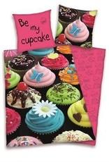 Cupcake Cupcake Dekbedovertrek Decoration 140x200cm +kussensloop 65x65cm
