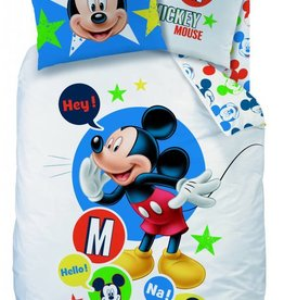 Disney Mickey Mouse Mickey Mouse Dekbedovertrek Expressions 140x200cm