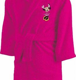 Disne3 Minnie Mouse Minnie Mouse Badjas Cœur 6/8 jaar - Roze