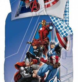 Marvel Avengers Dekbedovertrek Adventure katoen 140x200cm