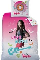 Chica Vampiro Chica Vampiro Dekbedovertrek Music 140x200cm + kussensloop 63x63cm