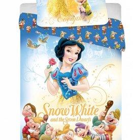 Sneeuwwitje Sneeuwwitje Dekbedovertrek Zeven Dwergen 140x200cm + kussensloop 70x90cm