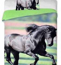 Animal Pictures Animal Picture Dekbedovertrek Paard Black Beauty 140x200cm