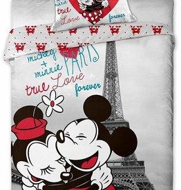 Disney Minnie Mouse Disney Minnie Mouse Dekbedovertrek Paris 140x200cm + 70x90cm