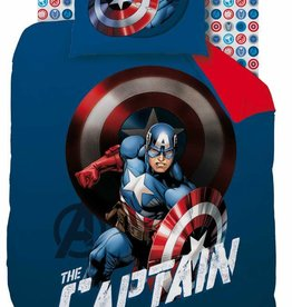 Avengers Avengers Dekbedovertrek Mission 140x200cm + kussensloop 63x63cm