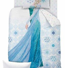 Disney Frozen Disney Frozen Dekbedovertrek Ice 140x200cm  + kussensloop 63x63 cm