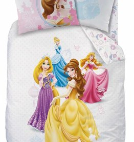 Disney Princess Disney Princess  Dekbedovertrek Dream Big 140x200cm + kussensloop 63x63 cm