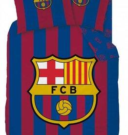 FC Barcelona FC Barcelona Dekbedovertrek Logo 140x200cm + kussensloop 63x63cm