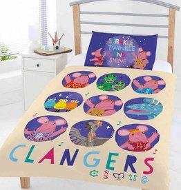 Clangers Circles - Dekbedovertrek - Eenpersoons - 120 x 150 cm - Multi