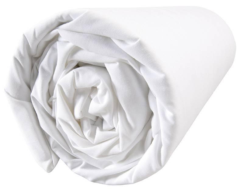 Matt & Rose Douce Nuit - Hoeslaken - Tweepersoons - 160 x 200 cm - Wit