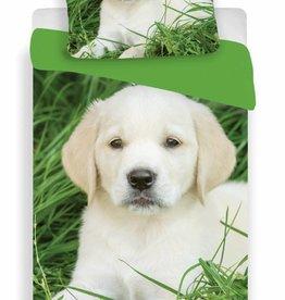 Animal Pictures Labrador Pupp3 - Dekbedovertrek - Eenpersoons - 140 x 200 cm - Multi