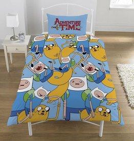Adventure Time Adventure Time Dekbedovertrek Reversible 140x200cm + kussensloop 50x75cm