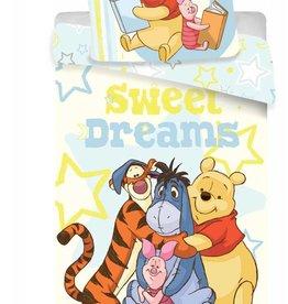 Disney Winnie the Pooh Disney Winnie the Pooh Dekbedovertrek Sweet Dreams 140x200cm + kussensloop 70x90cm