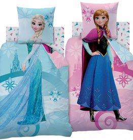 Disney Frozen Disney Frozen Dekbedovertrek Complicity 140x200cm + kussensloop 63x63cm