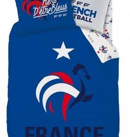France FF Dekbedovertrek Nation 140x200cm + 63x63cm Pol3cotton