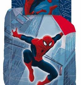 Spider-Man Spider-Man Dekbedovertrek Tower Reversable 140x200cm + kussensloop 63x63cm