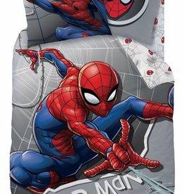 Spider-Man Dekbedovertrek Superhero 140x200cm + 63x63cm 100% katoen / Flanel