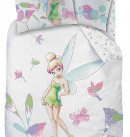 Disneys Fairies Tinkerbell Disney Fairies Tinkerbell Dekbedovertrek Wings 140x200cm + kussensloop 63x63cm