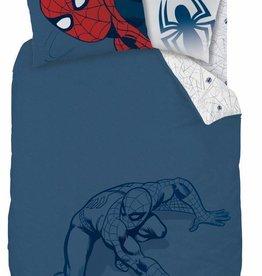 Spider-Man Spider-Man Dekbedovertrek Silhouette 140x200cm + kussensloop 63x63cm