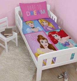Disney Princess Disney Princess Dekbedovertrek Dare 120x150cm + kussensloop 42x62cm