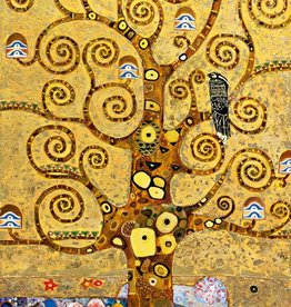 Klimt Levensboom - Fotobehang - 115 x 175 cm - Multi