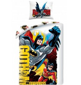 Batman Batman  Dekbedovertrek Gotham Guardians 140x200cm  + kussensloop 70x90cm