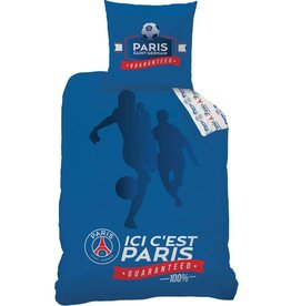 Paris Saint Germain Paris Saint Germain  Dekbedovertrek Foot 140x200cm + kussensloop 63x63cm