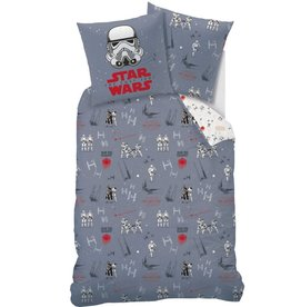 Star wars Star Wars Dekbedovertrek Universe 140 x 200cm inclusief pyjama bag