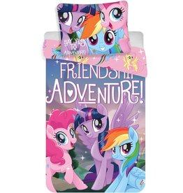 My little Pony My Little Pony Dekbedovertrek Friends Adventure 140x200cm + kussensloop 70x90cm