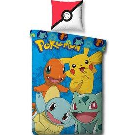Pokemon Goodgu3s - Dekbedovertrek - Eenpersoons - 140 x 200 - Multi