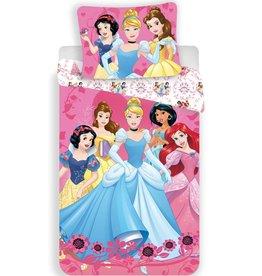 Disney Princess Disney Princess Dekbedovertrek Group 140 x 200 cm + kussensloop 70 x 90 cm