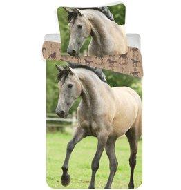 Animal Pictures Animal Pictures Dekbedovertrek Western Paard 140 x 200cm + kussensloop 70 x 90 cm