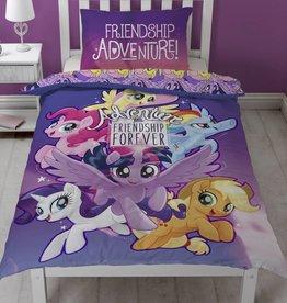 My little Pony My little Pony Dekbedovertrek Friendship 135 x 200cm + 1 kussensloop 50 x 75cm