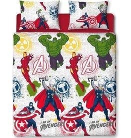 Marvel Avengers Marvel Avengers Dekbedovertrek Mission 200 x 200cm + 2 kussenslopen 50 x 75cm