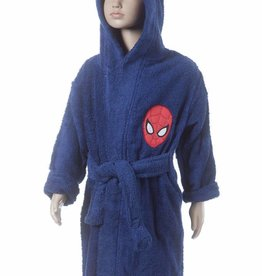 Spiderman Spiderman Badjas Peter 6/8 jaar blauw