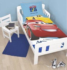 Disney Cars Disney Cars Junior Dekbedovertrek Cars 3 Lightning 120x150cm + kussensloop 40x60cm