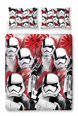 Star wars VIII Trooper - Tweepersoons - 200 x 200 cm - Multi