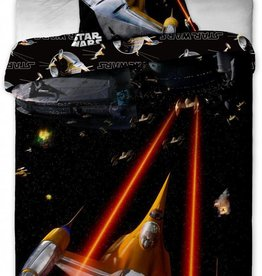 Star wars Star Wars Dekbedovertrek  Spaceships 140x200cm + kussensloop 70x90cm