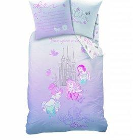 Disney Princess Disney Princess Dekbedovertrek  Rendez Vous 140x200cm + Kussensloop 63x63cm