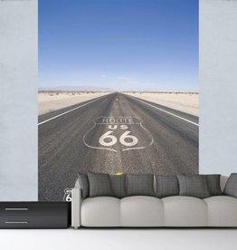 Route 66 Fotobehang 158 x 232 cm