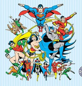 DC Comics DC Comics Collage 232 x 158 cm