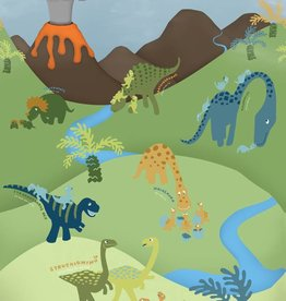 Animal Pictures Fotobehang Dino 232 x 158 cm