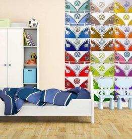 Volkswagen Fotobehang logo bumpers 232 x 158 cm