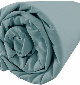 "Matt & Rose Hoeslaken Dragees delices Blue ""orage"" 180x200cm"